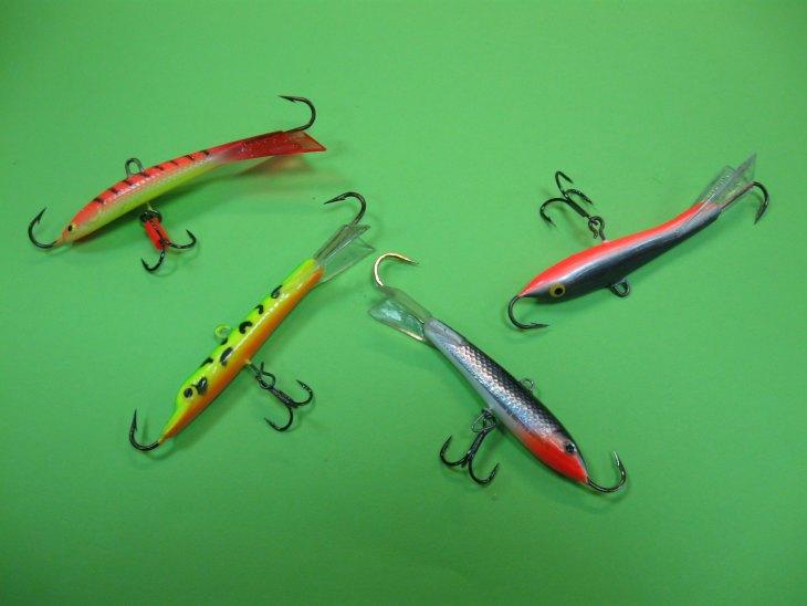 Разновидности балансиров для зимней рыбалки