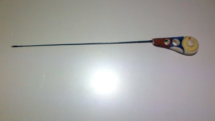 Безкивковая удочка для безмотылки – ловля, оснастка и техника