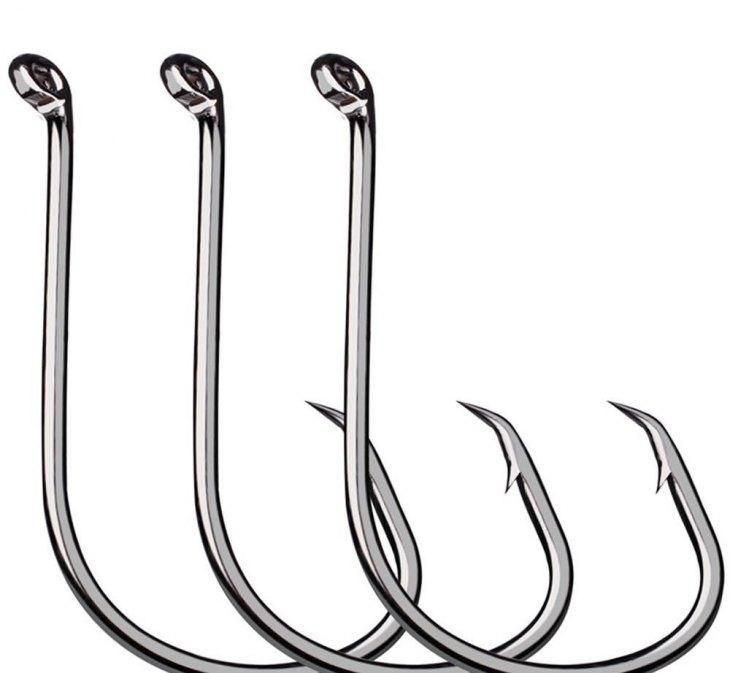 Размеры рыболовных крючков в натуральную величину